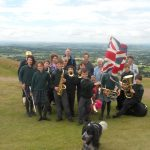 Summer 2011 - the Concert Band on the top of the Malverns!
