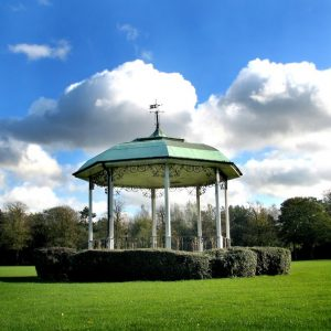 In 1975 the Military Band played in the Abbey Park Bandstand and the wind blew all our music away!