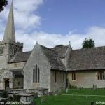 The Choir sang at the American Airmens' Service at All Saints, Down Ampney, Vaughan-Williams' home village