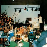 Here I am in action in the American concert
