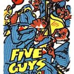 .. and finishing with the jazz songs of Cab Calloway in 'Five Guys Named Moe,'
