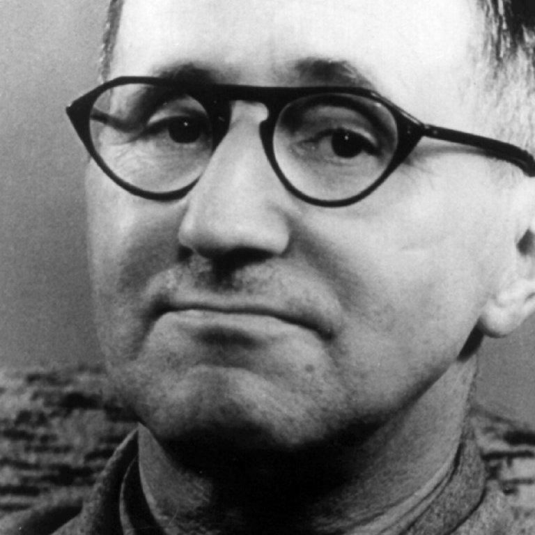 I also sang in Brecht's 'Der Jasager und der Neinsager'