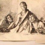 Last-supper-sketch-1024x249-1-150x150