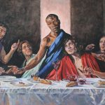In 2009 I set the words of the Haggadah (The Telling) to music for the unveiling of a new painting of The Lats Supper by Lorna May Wadsworth
