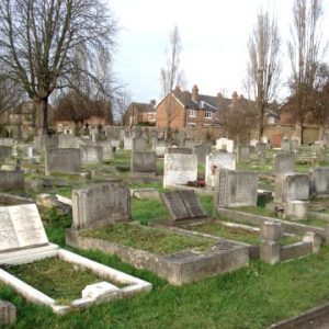 I planned all the dance moves for Beatrix Potter's 'Joseph' production during my breaktimes  in Wandsworth Cemetery